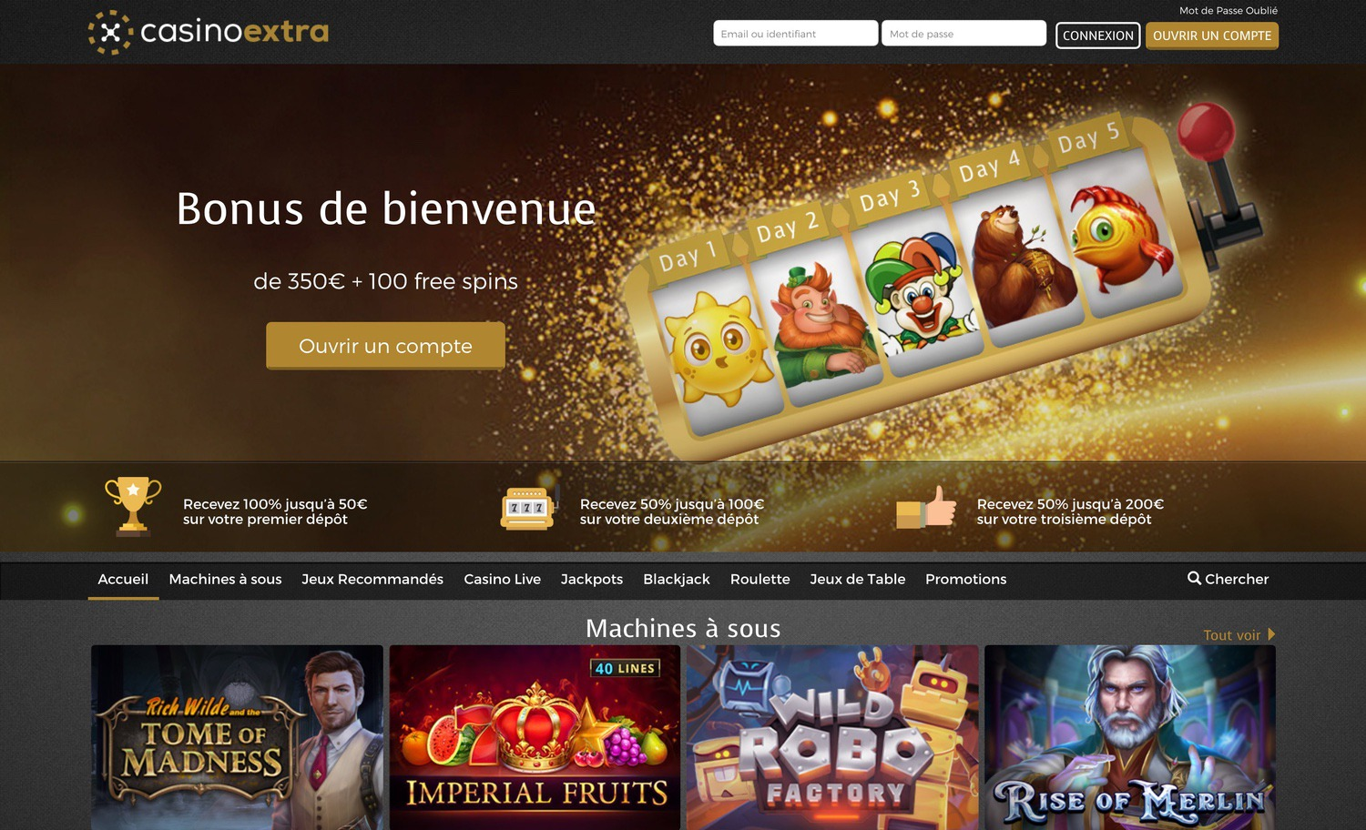 Casino Extra Officiel
